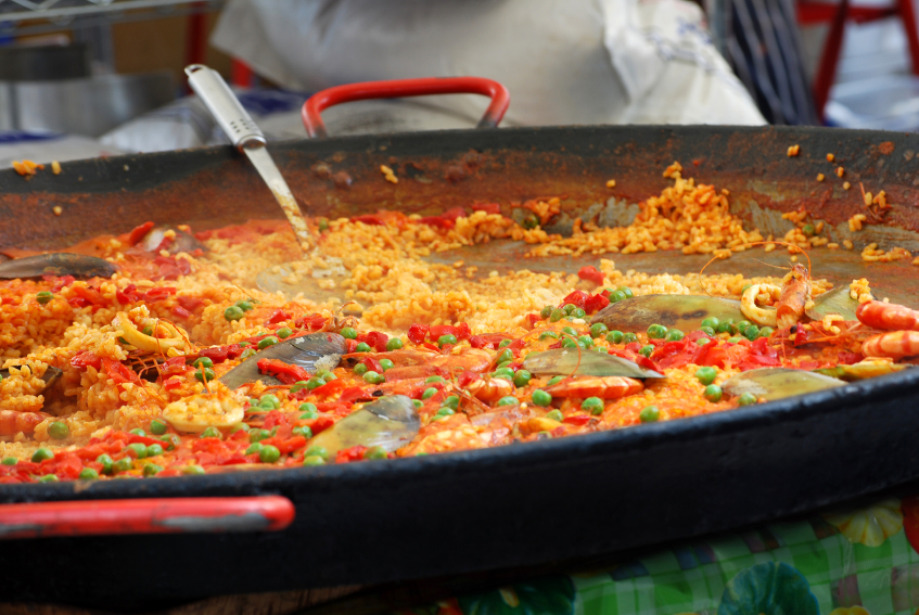 Paella Curry Amp Big Dish Parties Tolly And Sons Ltd